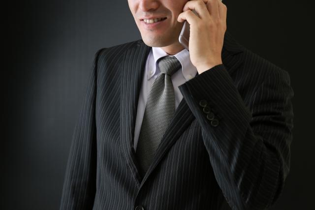 怪しい電話営業